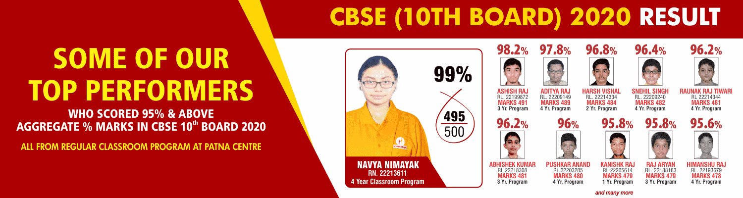 SOME OF OUR TOP PERFORMERS CBSE_10 BOARD