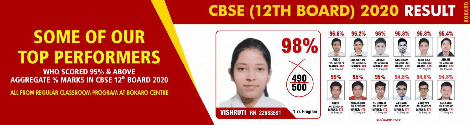 SOME OF OUR TOP PERFORMERS CBSE_12 BOARD
