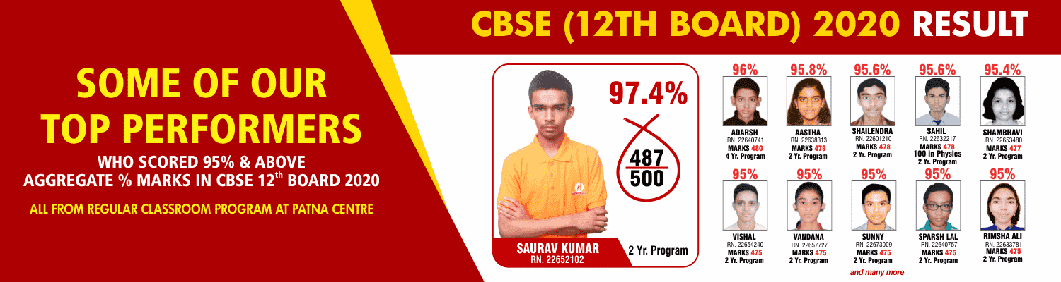 SOME OF OUR TOP PERFORMERS CBSE_12 BOARD 95%