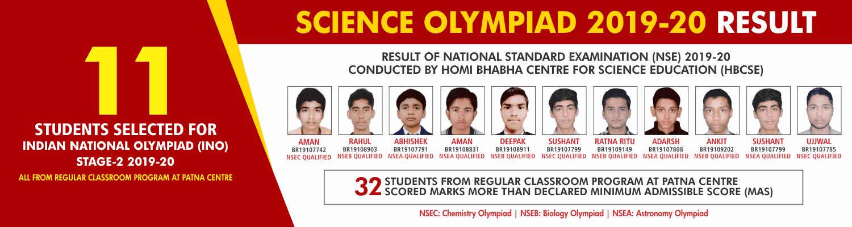 SCIENCE OLYMPIAD 2019-20