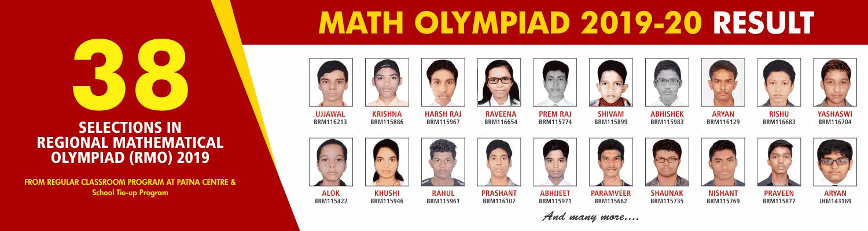 MATHS OLYMPIADS 2019-20